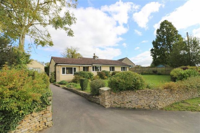 Thumbnail Detached bungalow for sale in Somerfield, The Hill, Little Somerford