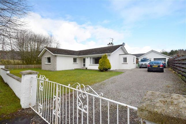 Thumbnail Detached bungalow for sale in Seafield Avenue, Grantown-On-Spey