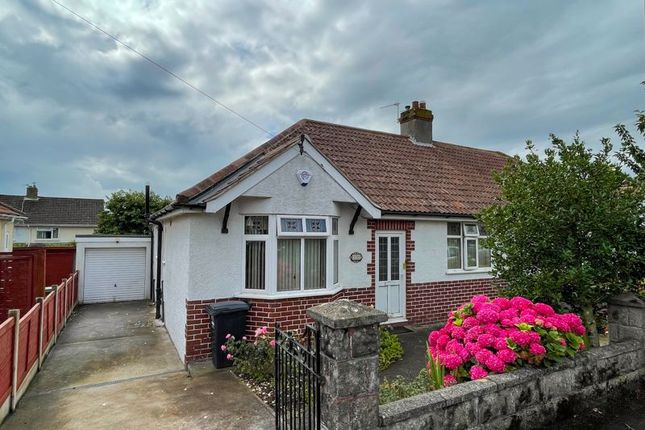 Thumbnail Semi-detached bungalow for sale in Woodcliff Road, Weston-Super-Mare