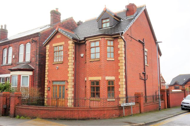 Thumbnail Detached house for sale in Hall Lane, Wigan