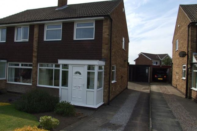 Thumbnail Semi-detached house to rent in Derwent Avenue, Leeds