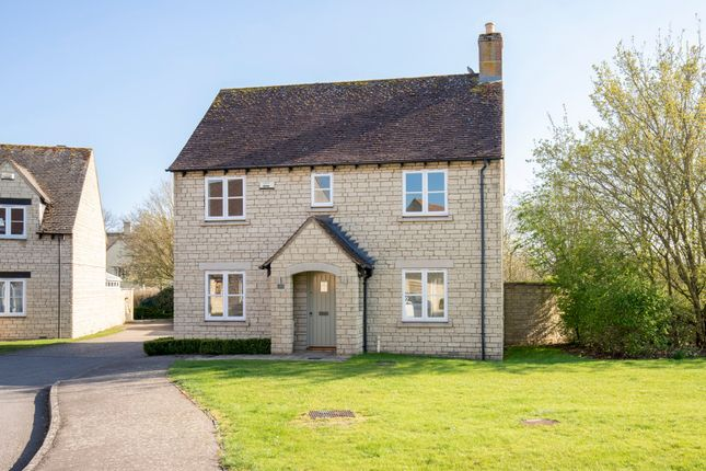 Thumbnail Detached house to rent in Birch Drive, Bradwell Village, Burford
