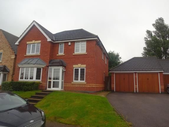 Thumbnail Detached house for sale in Hawley Close, Walsall, West Midlands