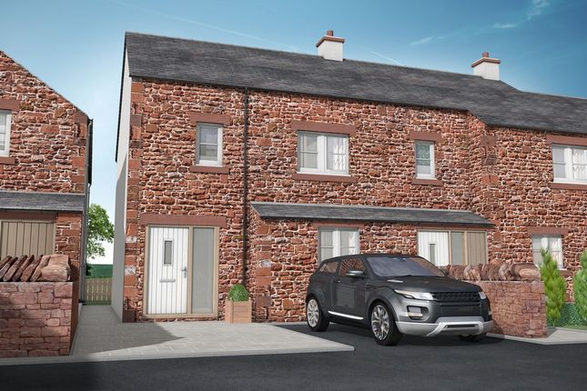 Thumbnail End terrace house for sale in The Old Sawmill, Warcop, Appleby-In-Westmorland