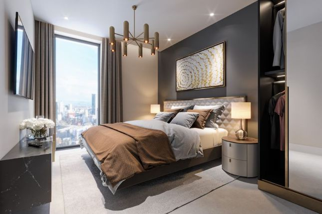 Thumbnail Flat for sale in Wardour Point Apartments, Regent Rd, Manchester