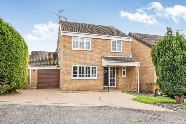 Thumbnail Detached house for sale in Markhams Close, Haverhill