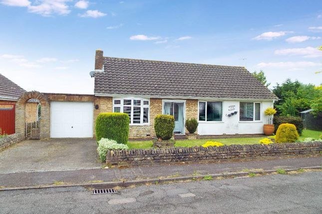 Thumbnail Detached bungalow for sale in Windmill Close, Wollaston, Northamptonshire