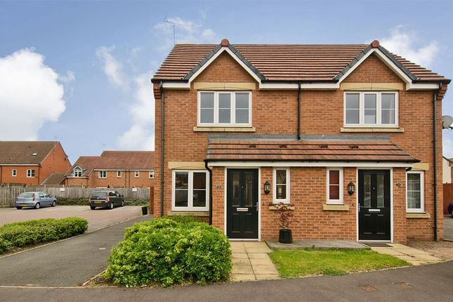 Thumbnail Semi-detached house for sale in Violet Close, Huntington, Cannock