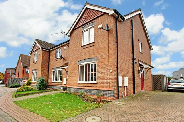 Thumbnail End terrace house for sale in Mill View, Barton-Upon-Humber, Lincolnshire
