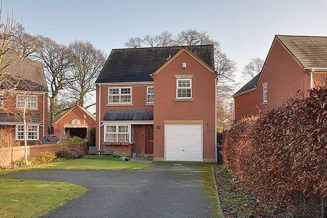 Thumbnail Detached house for sale in Willans Drive, Kerry, Newtown, Powys