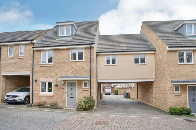 Thumbnail Link-detached house to rent in Anderson Close, St Neots