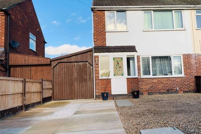 Thumbnail Semi-detached house for sale in Peebles Road, Newark, Nottinghamshire.