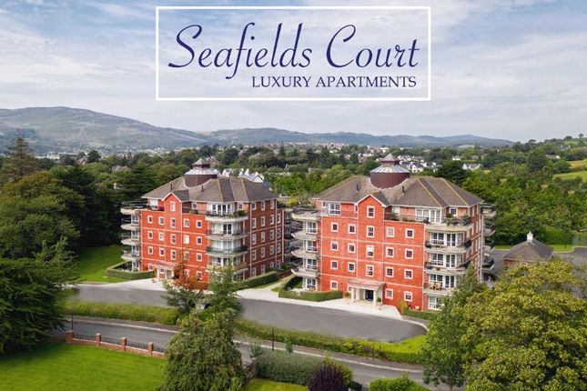Thumbnail 3 bed flat for sale in The Penthouse, 37 Seafields Court, Warrenpoint