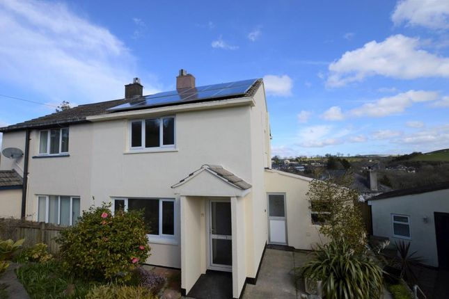 Thumbnail Semi-detached house for sale in Barn Park, Buckfastleigh, Devon