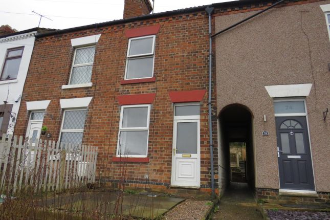 Thumbnail Terraced house to rent in Ripley Road, Sawmills, Belper