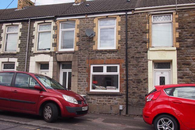 Thumbnail Terraced house to rent in Loughor Road, Gorseinon, Swansea