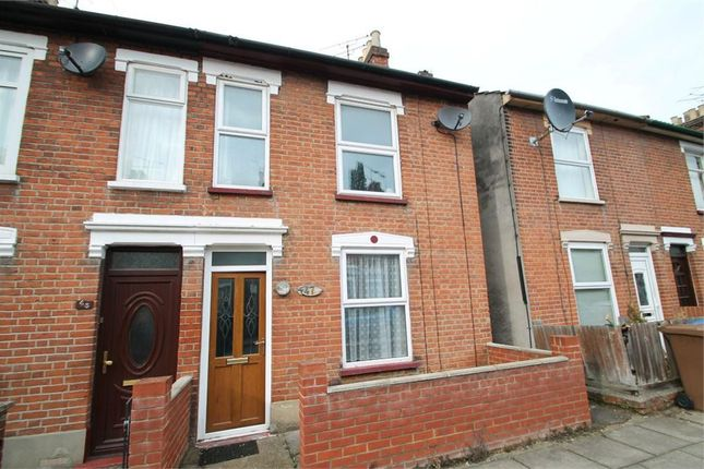 Thumbnail End terrace house to rent in Finchley Road, Ipswich