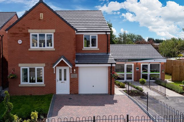 "Thumbnail Detached house for sale in ""The Hornsea "" at Station Road, Hesketh Bank"