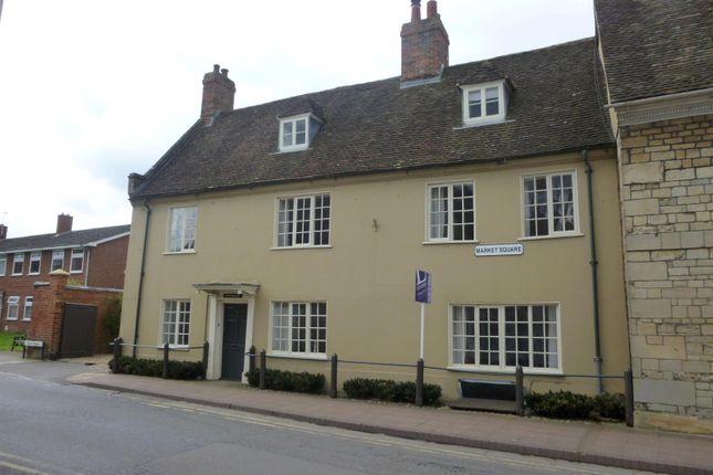Thumbnail Town house to rent in Market Square, Stony Stratford, Milton Keynes
