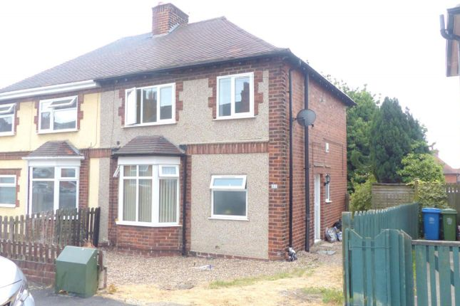 Thumbnail Semi-detached house to rent in Smith Street, Mansfield