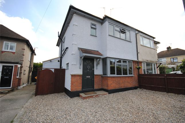 Thumbnail Semi-detached house for sale in Chilton Close, Chelmsford, Essex