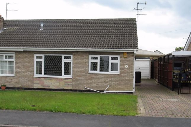 Thumbnail Semi-detached bungalow to rent in Curzen Crescent, Kirk Sandall, Doncaster, South Yorkshire