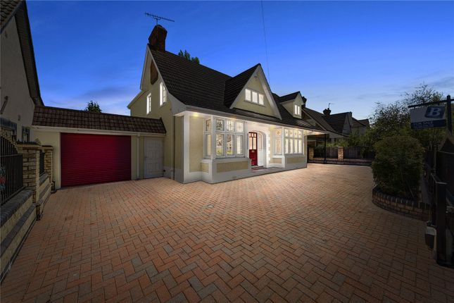 Thumbnail Detached house for sale in Curtis Road, Emerson Park