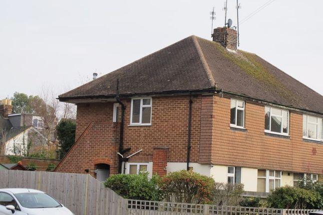 Thumbnail Maisonette to rent in Spencers Road, Horsham