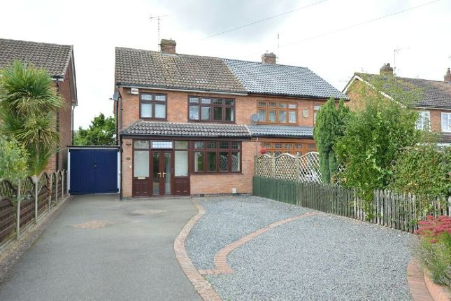 Thumbnail Semi-detached house for sale in Saville Road, Blaby, Leicester