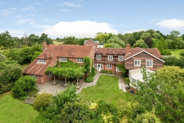 Thumbnail Detached house for sale in Canada Common, West Wellow, Romsey