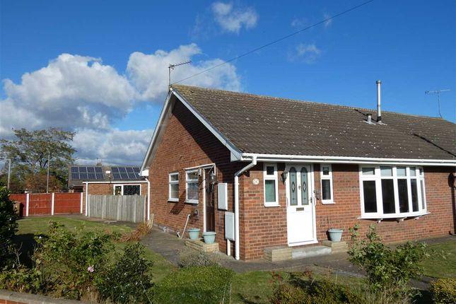 Thumbnail Semi-detached bungalow for sale in Fir Close, Scunthorpe
