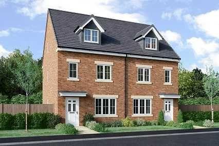 Thumbnail Semi-detached house for sale in Blackfield Green, Warton, Preston