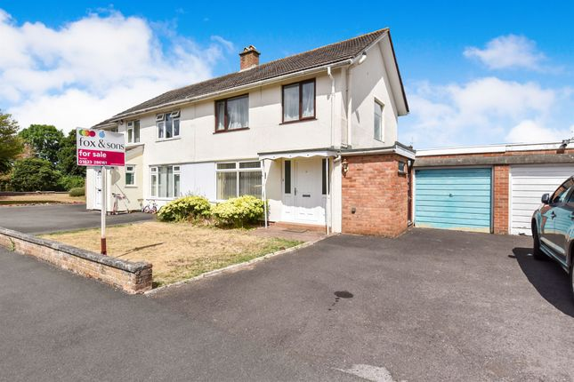 Thumbnail Semi-detached house for sale in Upcot Crescent, Taunton