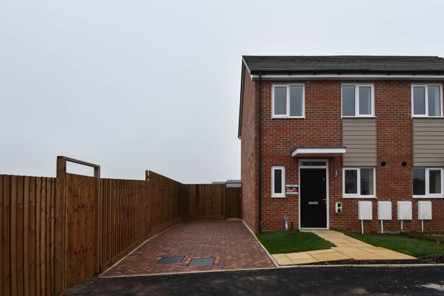 Thumbnail Semi-detached house for sale in Newman Drive, Cofton Hackett, Longbridge