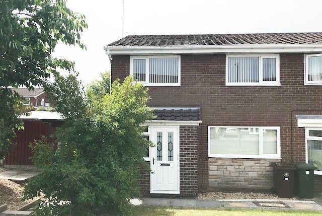 Thumbnail Semi-detached house for sale in Denholme, Skelmersdale, Lancashire