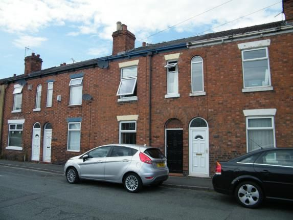 Front of Henry Street, Crewe, Cheshire CW1