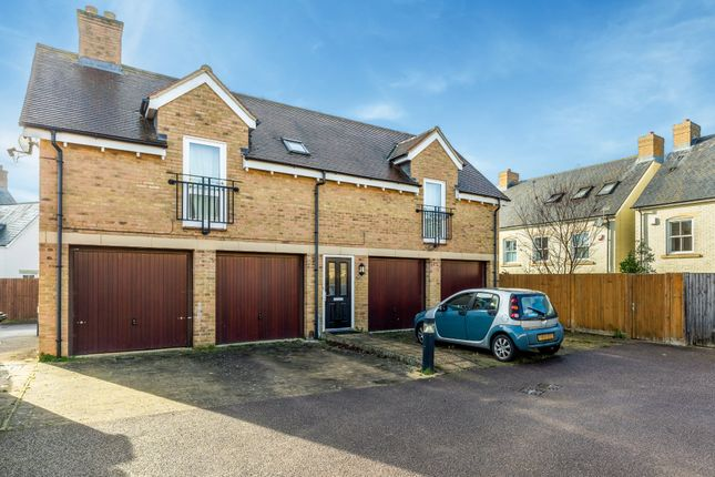 Thumbnail Maisonette to rent in Bronte Avenue, Fairfield, Hitchin, Herts