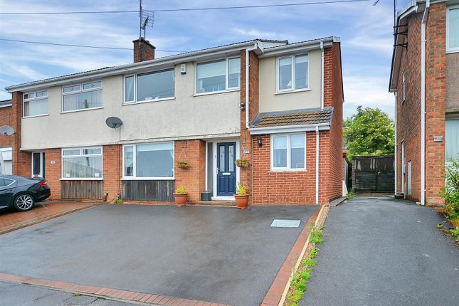 Thumbnail Semi-detached house for sale in Lindholme Way, Sutton-In-Ashfield