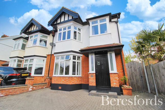 4 bed semi-detached house for sale in Highview Gardens, Upminster, Essex RM14