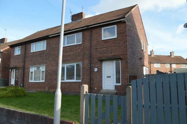 Thumbnail Semi-detached house to rent in Beech Street, South Elmsall, Pontefract