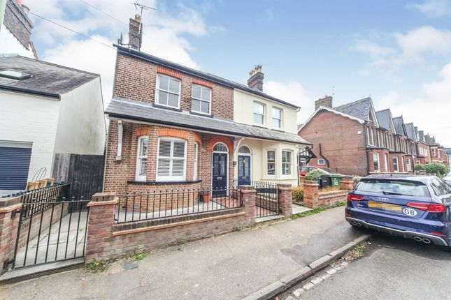 Semi-detached house for sale in Cowper Road, Harpenden