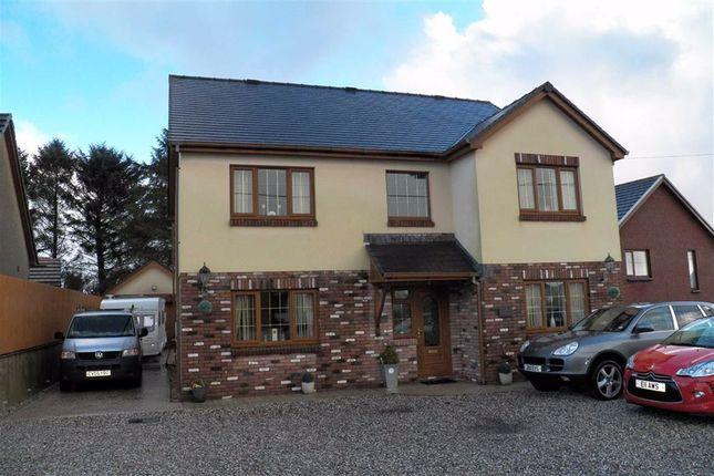 Thumbnail Detached house for sale in Heol Yr Ysgol, Cefneithin, Llanelli