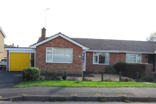 Thumbnail Semi-detached bungalow for sale in Burnham Road, Fordingbridge