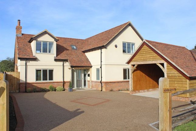 Thumbnail Detached house for sale in Tutts Lane, West Wellow, Romsey
