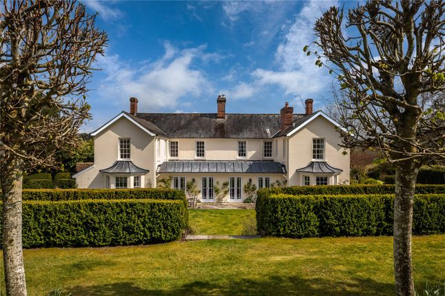 Thumbnail Detached house for sale in Queenwood, Broughton, Stockbridge, Hampshire