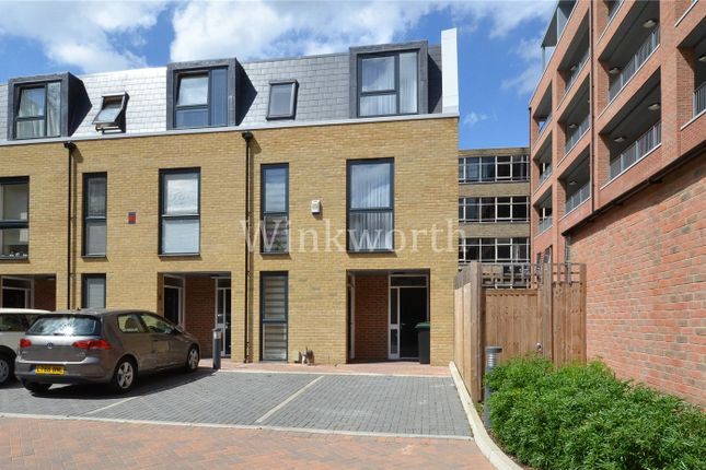 Thumbnail End terrace house to rent in Dovetail Place, Lawrence Road, London