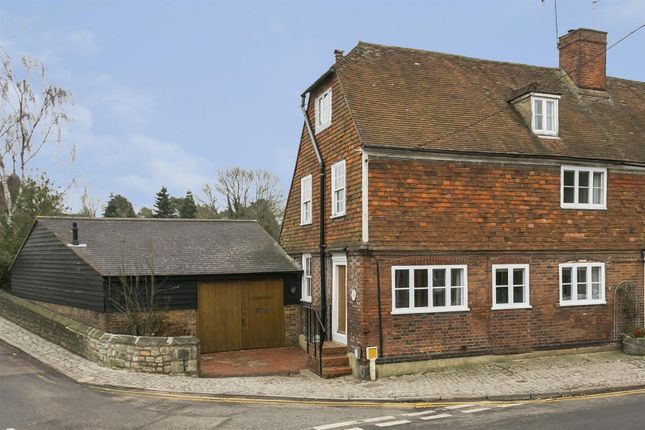 Thumbnail End terrace house for sale in High Street, Yalding, Maidstone