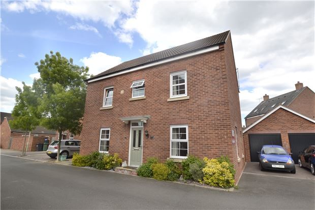 Thumbnail Detached house for sale in Buchan Drive Kingsway, Quedgeley, Gloucester