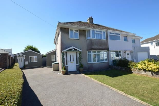 Thumbnail Semi-detached house for sale in Rockville Park, Plymstock, Plymouth, Devon