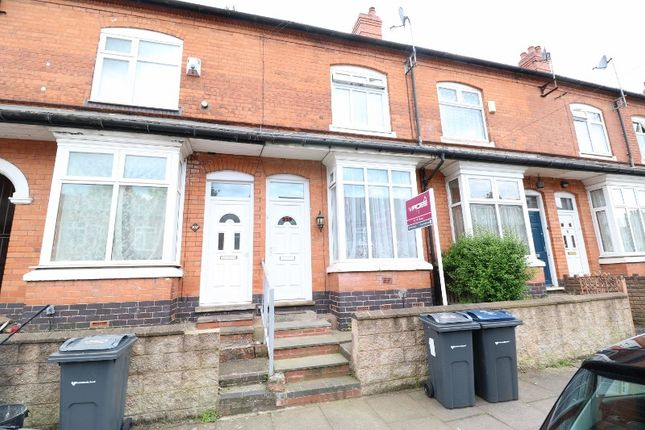 Thumbnail Terraced house for sale in Newcombe Road, Handsworth